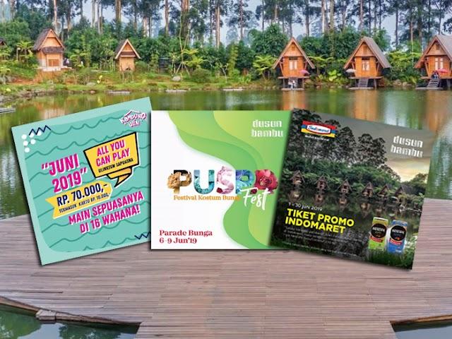 Promo dan Event Seru Wisata Dusun Bambu Saat Libur Lebaran 2019