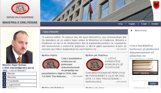 Albanian Ministry of Justice Exploited by ATH-Cr3w