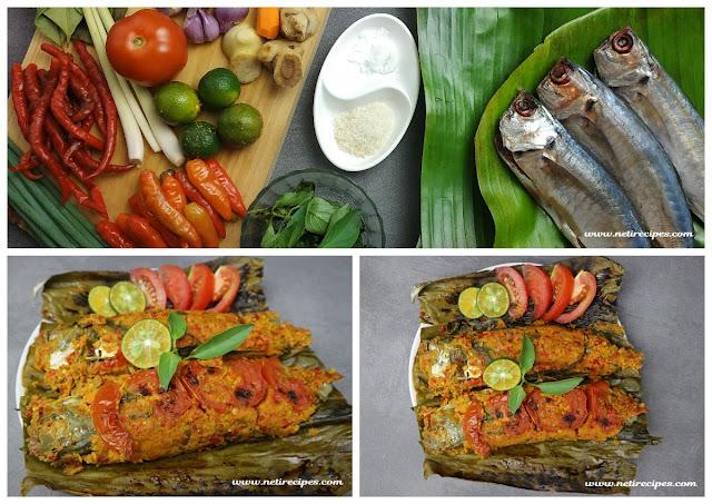 Resep Pepes Ikan Kembung Pedas dan Gurih