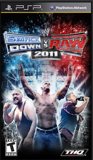 Download Game PPSSPP/PSP WWE Smackdown vs. Raw 2011 (USA) ISO
