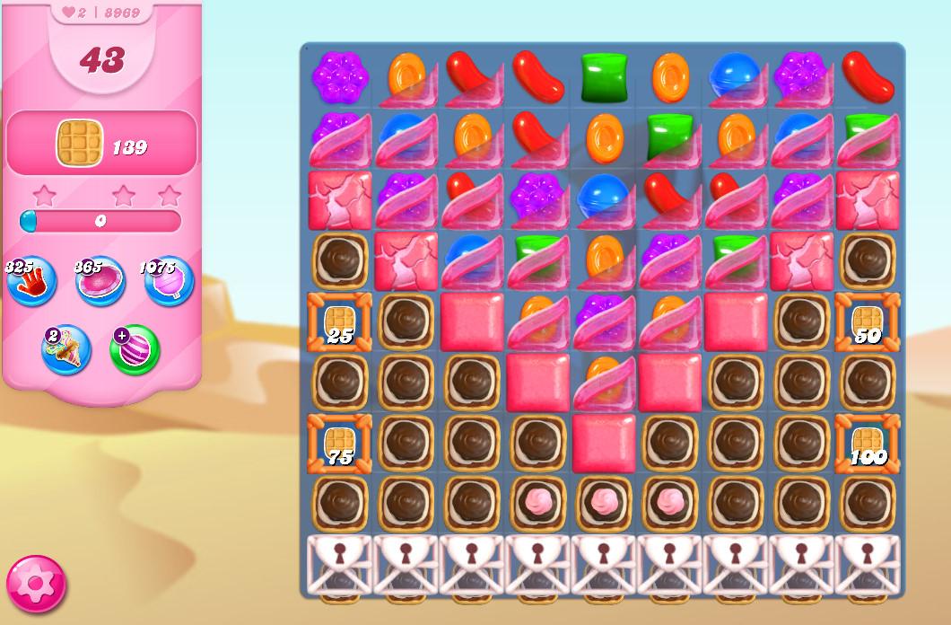 Candy Crush Saga level 8969