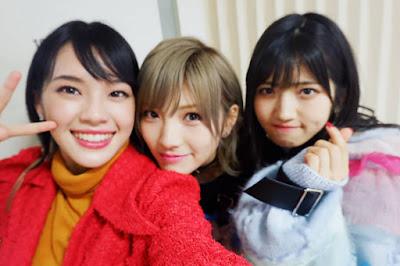 Cherprang attends Okada Nana & Murayama Yuiri concert