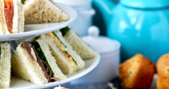 Assorted Tea Sandwiches for Afternoon Tea