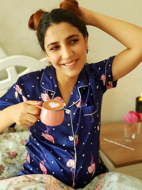 flamingolu pijama takımı