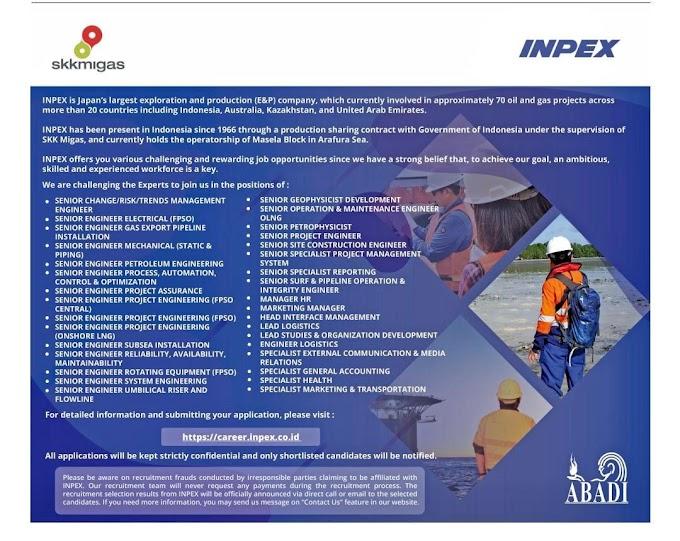 Lowongan Pekerjaan di INPEX