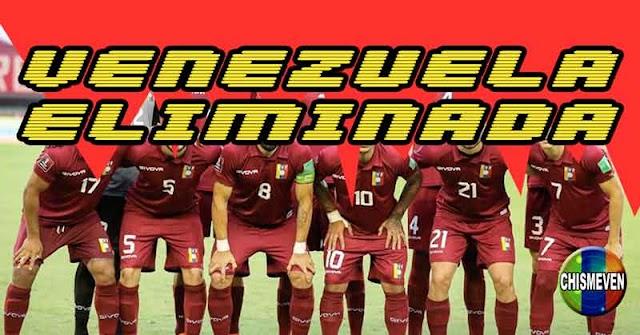 Venezuela eliminada vergonzosamente de la Copa América