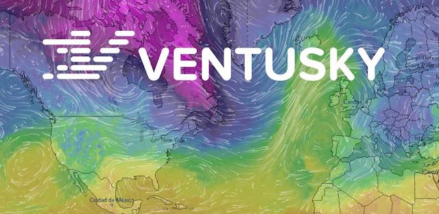 تنزيل Ventusky تطبيق خرائط الطقس المباشر لنظام الاندرويد