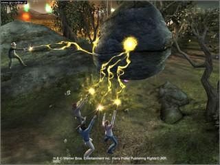 Imagens do jogo Harry Potter e o Cálice de Fogo PS2