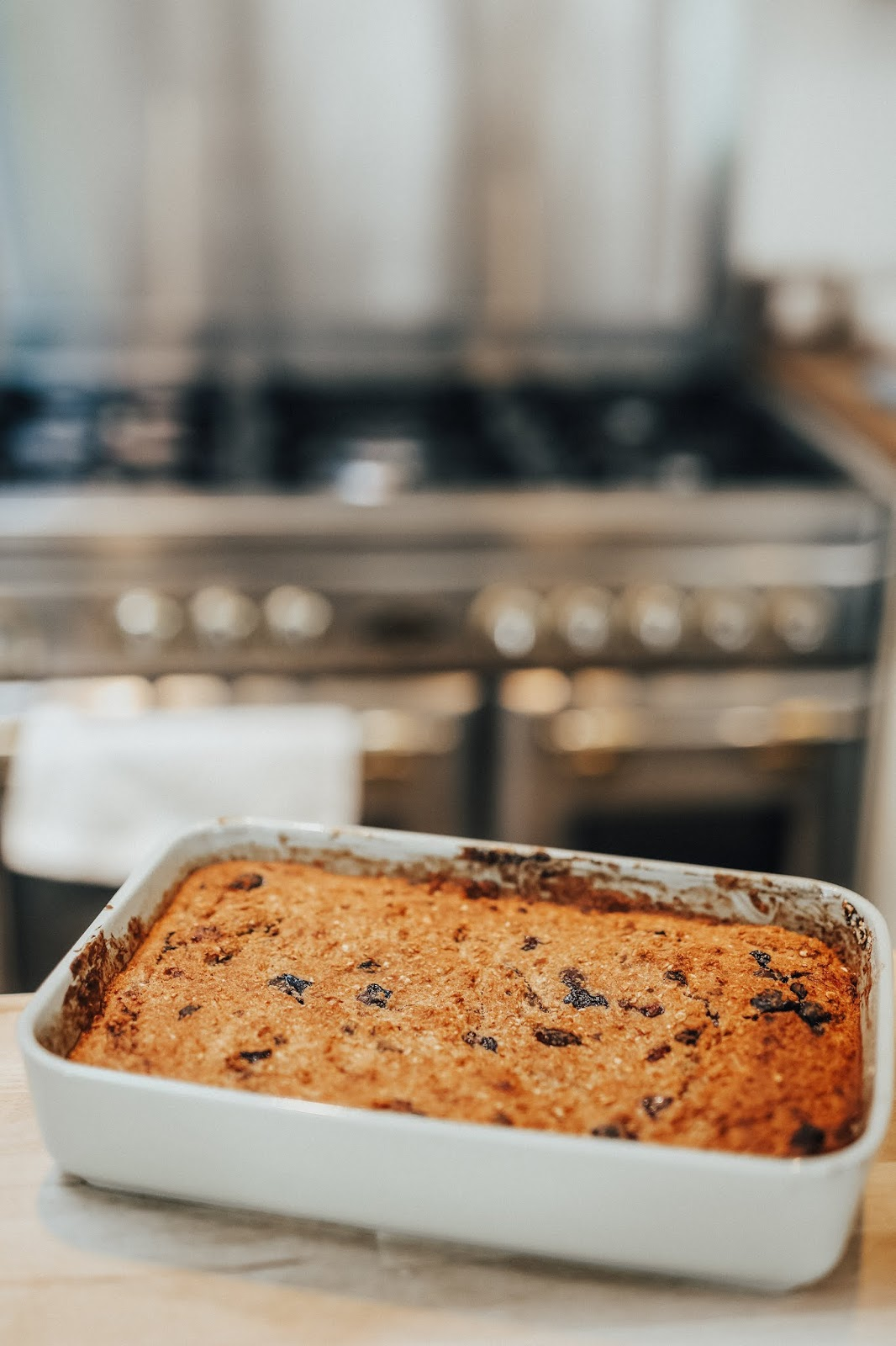 healthy banana bread loaf