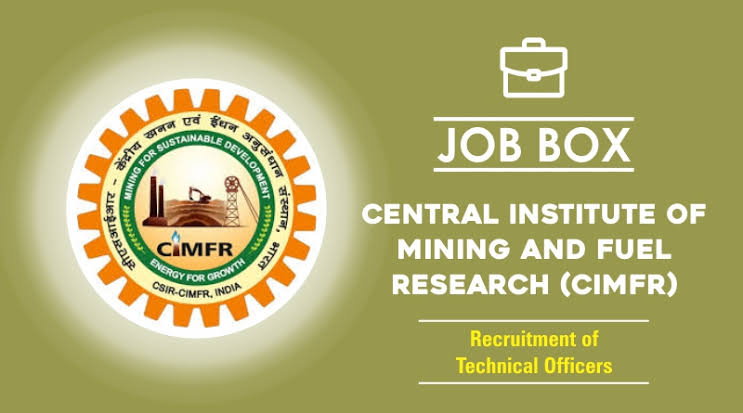 Job vacancy for CIMFR Recruitment 2021 for Engineers, Diploma Engineers & Graduates for Project Assistant & Project Associate