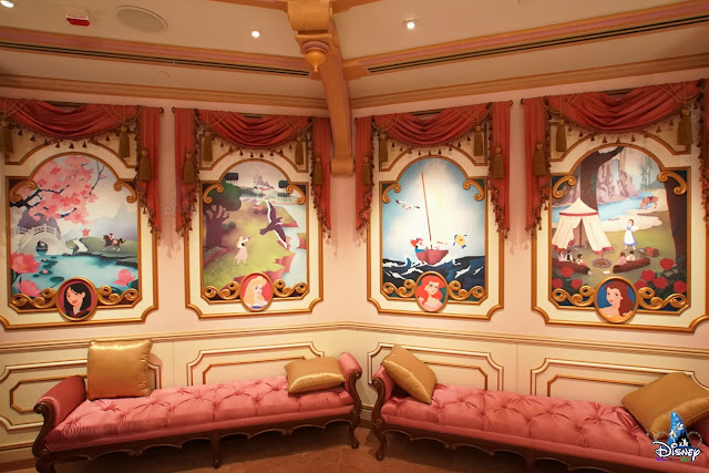童話藝坊- 魔法化妝廳, Storybook Shoppe - Bibbidi Bobbidi Boutique, Disney, Hong Kong Disneyland, HKDL, 香港迪士尼樂園, 奇妙夢想城堡, Castle of Magical Dreams, 幻想世界, Fantasyland, Disney Princess,  迪士尼公主
