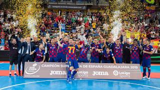 FÚTBOL SALA - Segunda Supercopa para el Barcelona