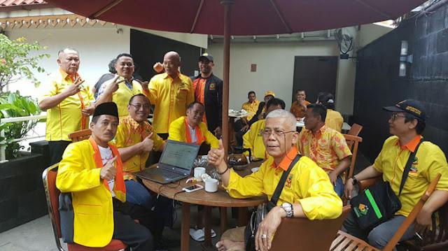 Keakraban Pengurus Partai Berkarya Lintas Provinsi Jelang Pengambilan Nomor Urut di KPU RI