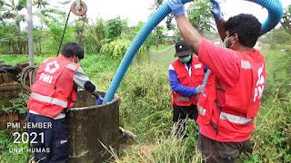 PMI Jember Bantu Pompa Air Terdampak Banjir