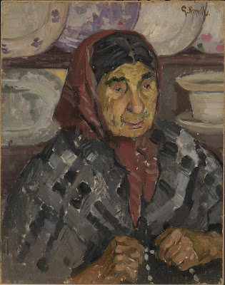 Old french Woman (1915), Gladys Reynell