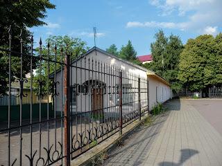Сміла. Станція ім. Т. Шевченка. Стара залізнична будівля на південних платформах