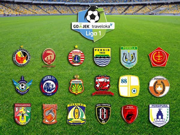Jadwal Pertandingan Go-Jek Traveloka Liga 1 Pekan ke-7
