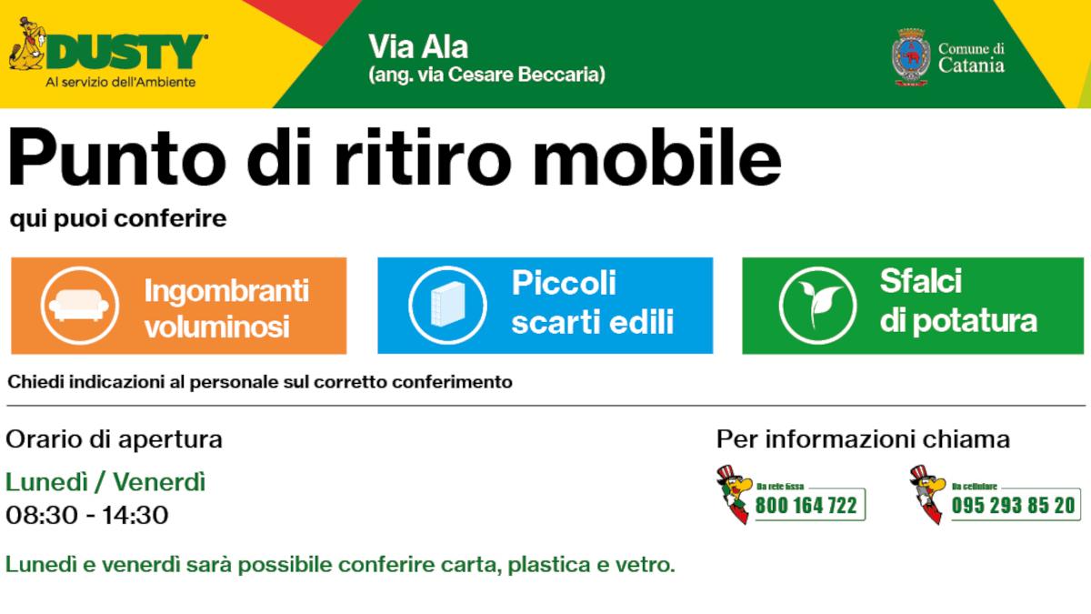 punto eco mobile via Ala Dusty