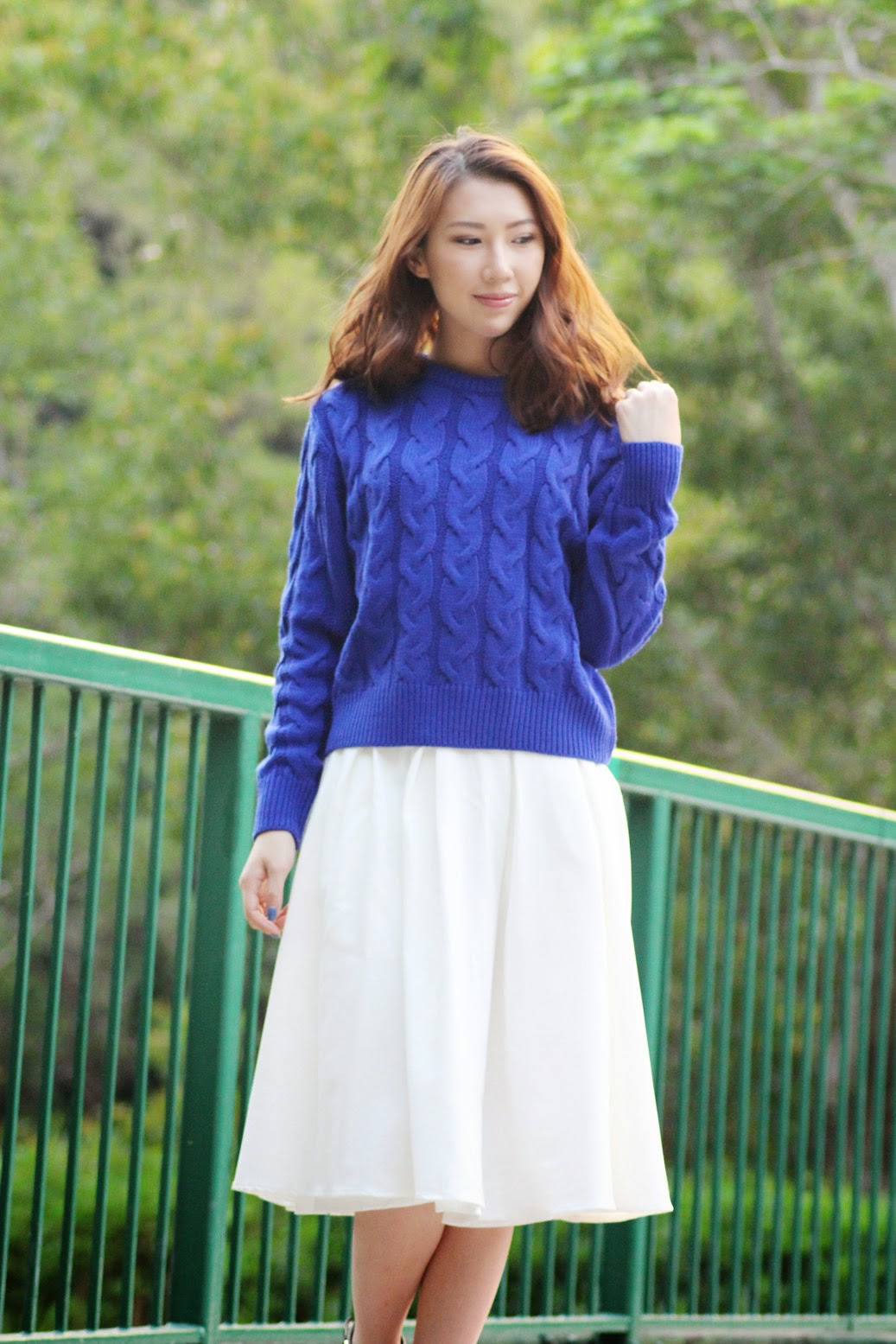 One Sweater Two Midi Skirts Bethni Com