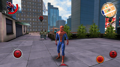 The Amazing Spider Man v1.2.2g (Apk+Obb) Data Free Download