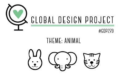 Theme challenge by the Global Design Project logo - animals