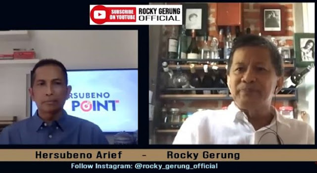 Ini yang Ditakutkan Rocky Gerung soal Pidato Perdana Jokowi di Sidang PBB