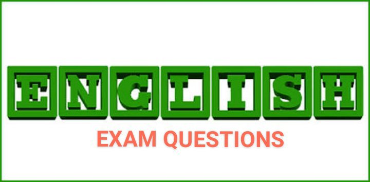 First Term's English Examination Questions for JSS 1 – SSS 3