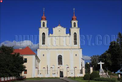 Ивье. Костел святого Петра и Павла
