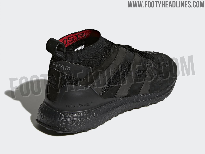 8c73273bc6fa2 +1 Adidas Predator Accelerator David Beckham Ultra Boost - Triple Black.
