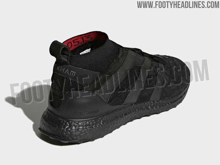 best sneakers b1d4a 90006 Adidas Predator Accelerator David Beckham Ultra Boost - Triple Black