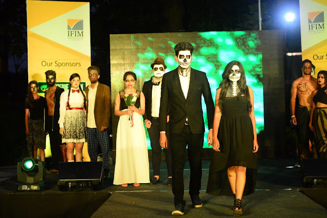 Fashion Show by Students at IFIM's Fest naman