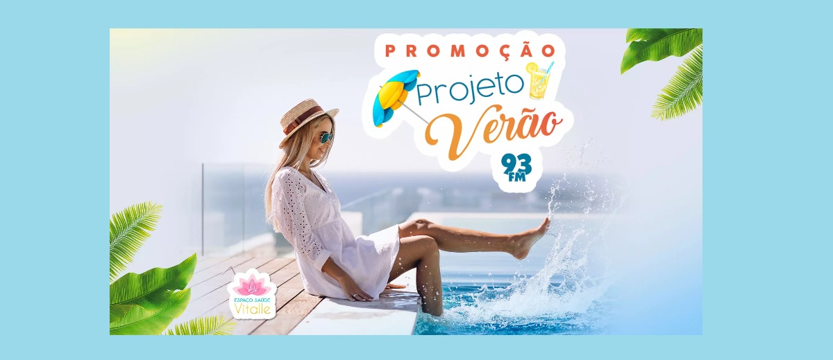 Promoção Rádio 93 FM Projeto Verão 2021