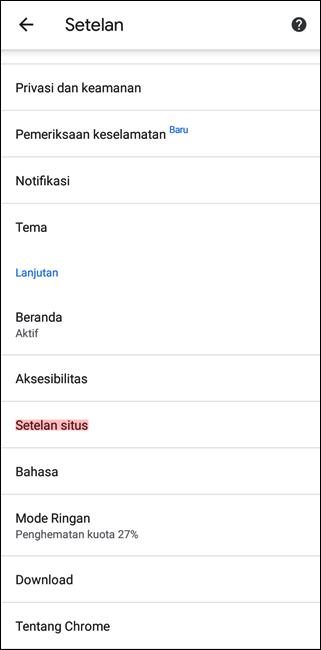 Cara Memblokir Iklan di Google Chrome Android dan iOS