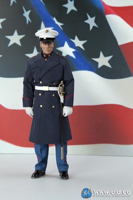 Badge placement dress blue bravos usmc