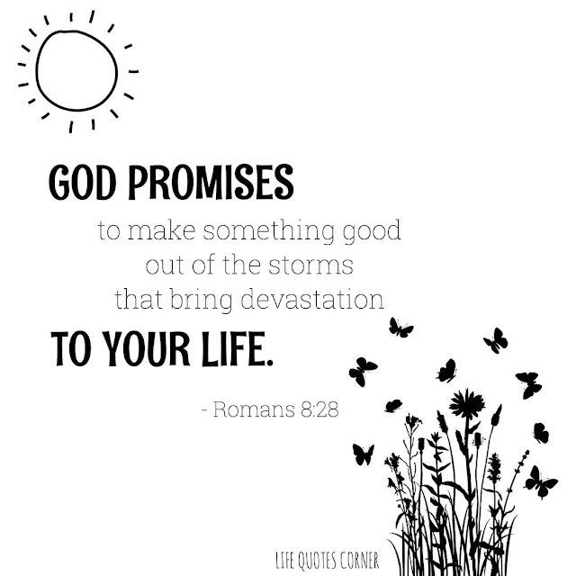 God promises to make something good