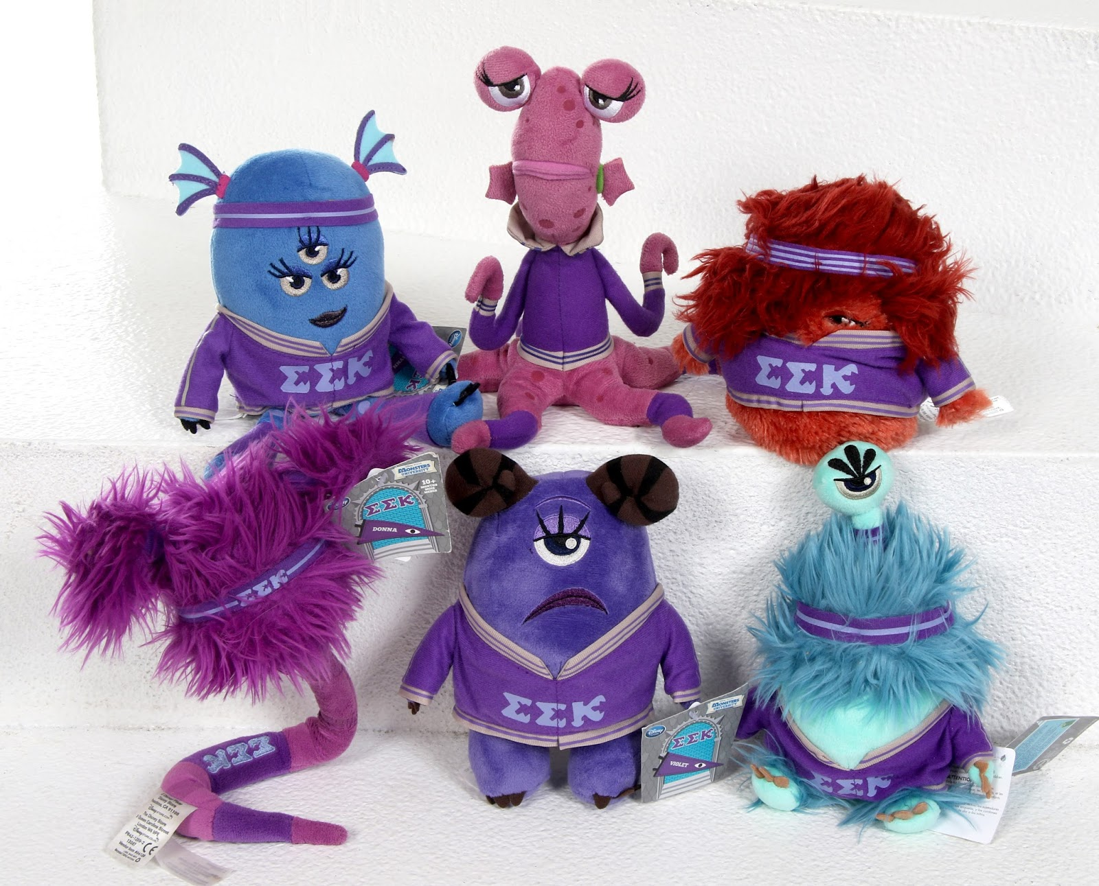 disney store monsters university EEK plush