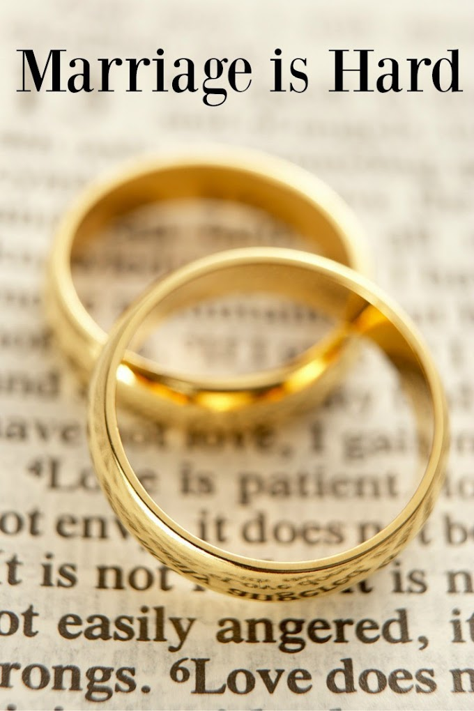 Marriage Is Hard Work!  Worth Reading!!