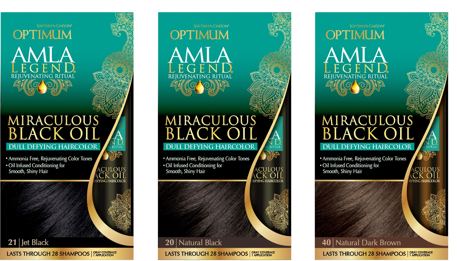 Optimum Amla Legend Miraculous Black Oil Hair Color