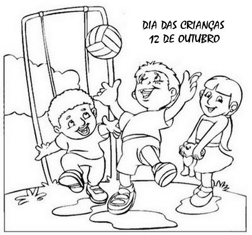 Blog Professor Zezinho Desenhos De Criancas Para Colorir