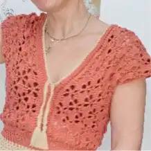 Camisa Chloé a Crochet