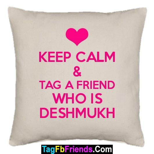 DESHMUKH