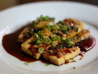 Tofu With Dark Sweet Soy Sauce Recipe