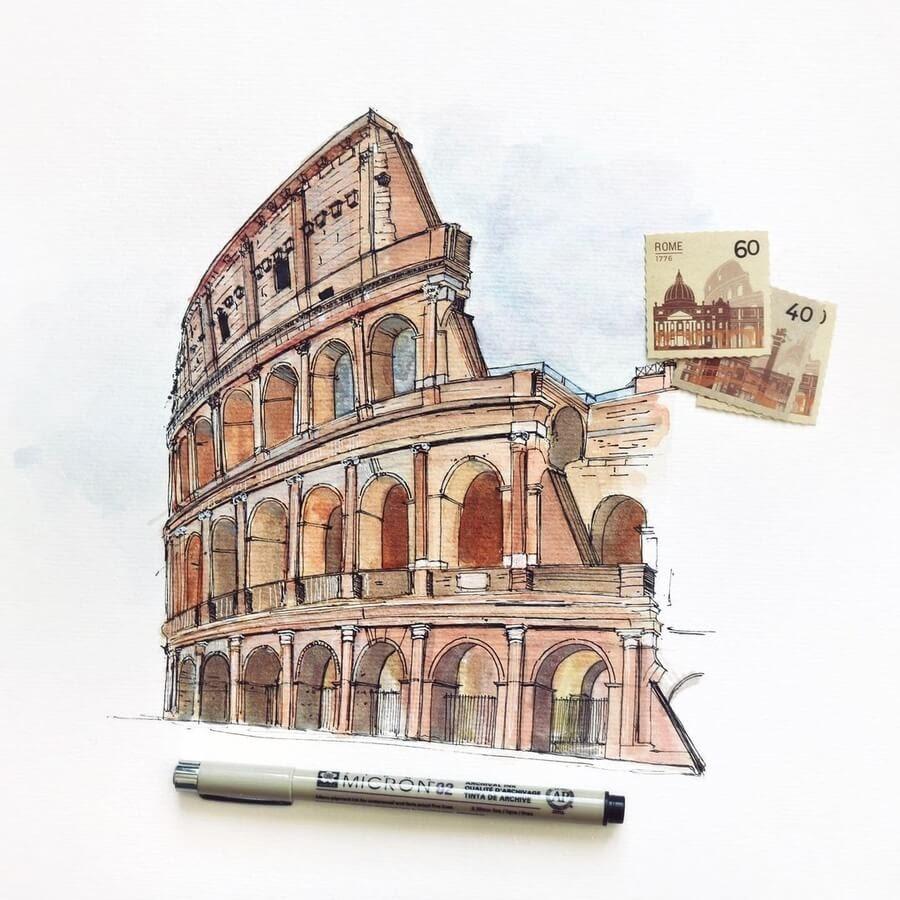 06-Coloseum-Rome-Reihané-www-designstack-co