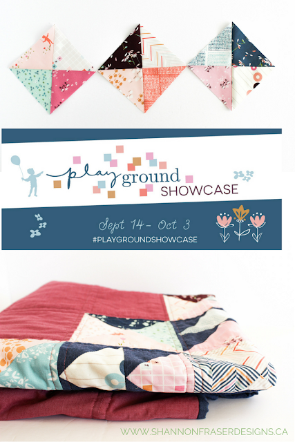 Playtime Quilt - Shannon Fraser Designs - Playground Fabric