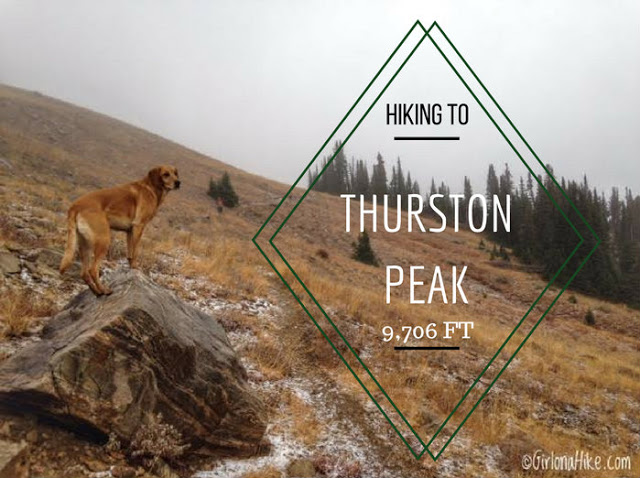 Hiking to Thurston Peak