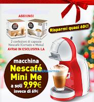 Logo Macchine Nescafè Mini Me a soli € 9,99? scopri come averla