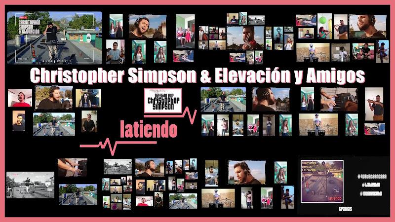 Christopher Simpson & Elevación & Amigos - ¨Latiendo¨ - Videoclip - Director: Christopher Simpson. Portal Del Vídeo Clip Cubano