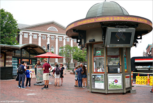 Harvard Square en Cambridge