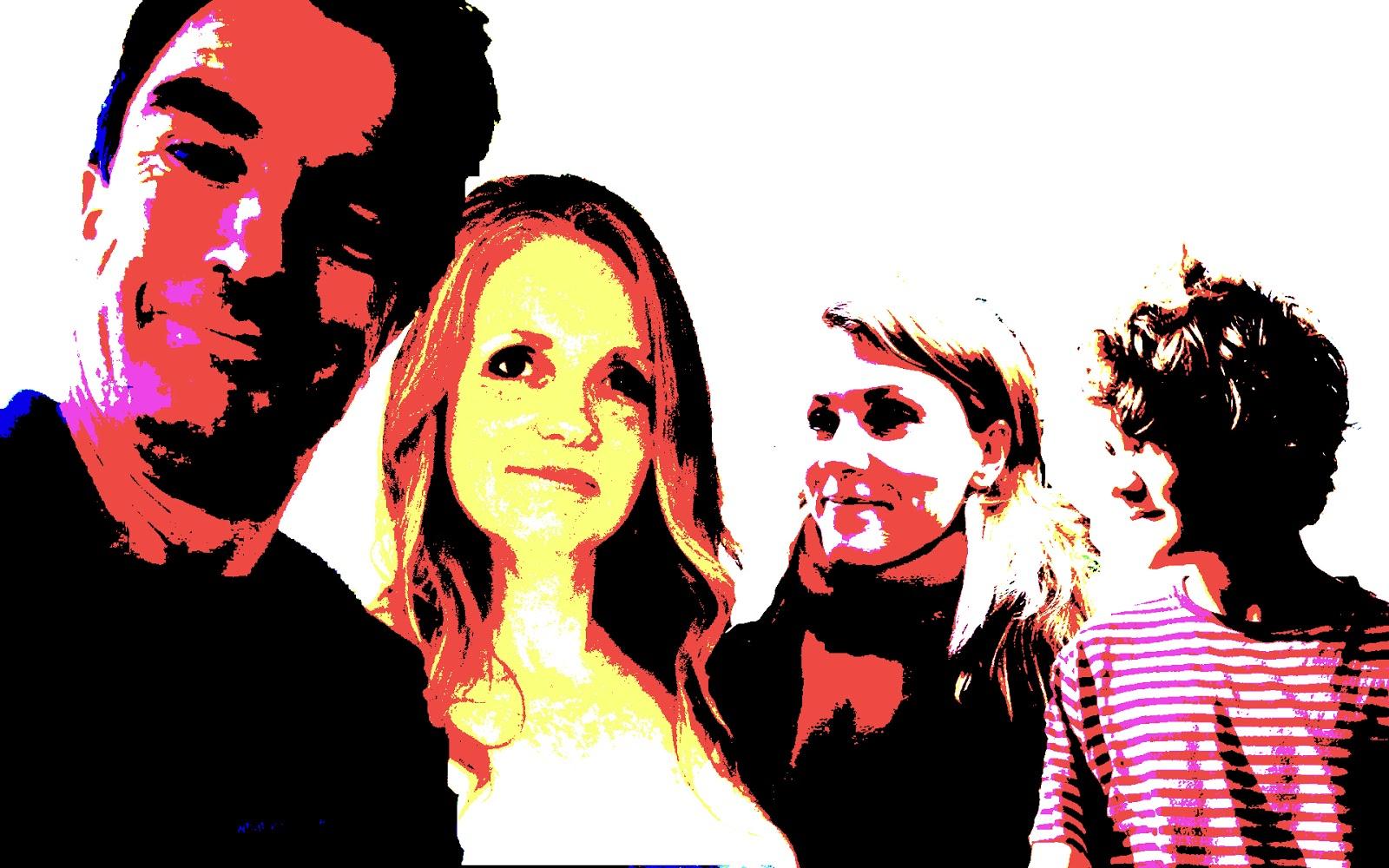 Animatedcreativeandreamcswan Andy Warhol Photoshop Effects Layers