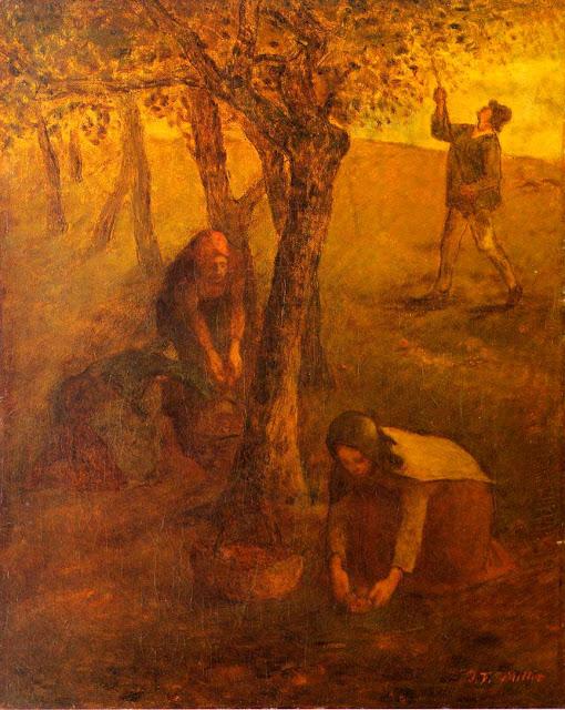 Жан Франсуа Милле - Сбор яблок